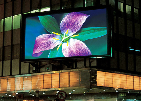 TOPLED P5 Outdoor Full Color LED Screen 140° Horizontal / Vertical Viewing Angle