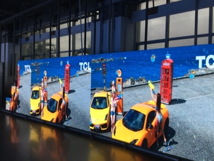 Customized P1.935 Indoor Rental LED Display Die Casting Aluminum Material