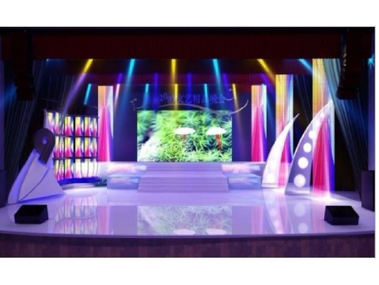 HD Outdoor P5 Rental Stage LED Screen 1R1G1B For Commercial Advertising