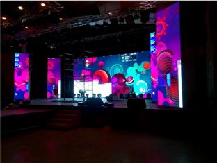 High Refresh P4.81 Stage LED Screen Super Slim Indoor Rental For Live TV Show