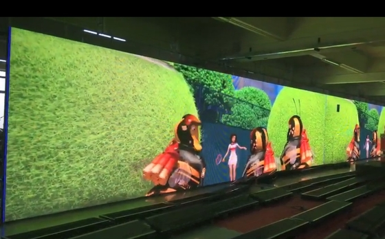 Chiny SMD P6 Full Color Indoor Led Digital Display Board Ściana wideo do reklamy dystrybutor